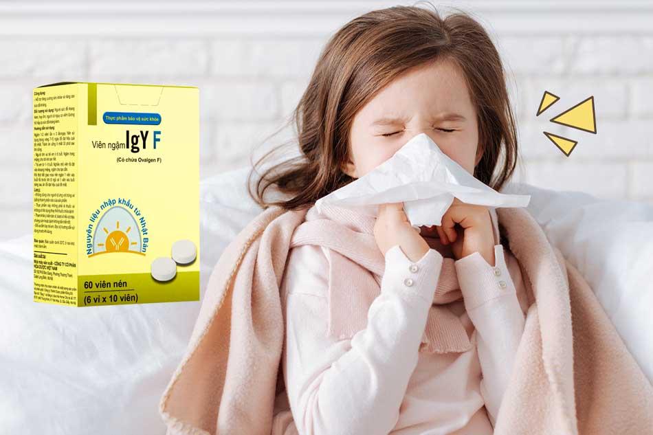 IgY F có phải Vaccine cúm không?