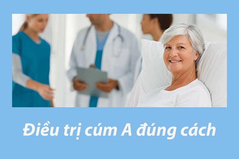 Điều trị cúm A đúng cách