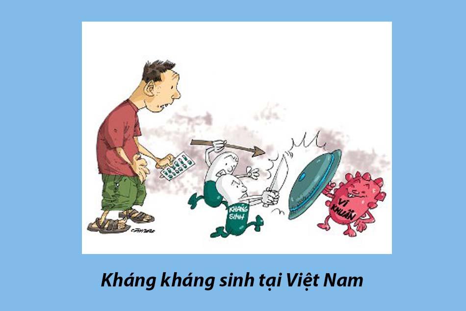 Kháng kháng sinh tại Việt Nam