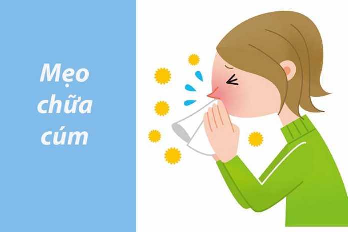 Mẹo chữa cúm