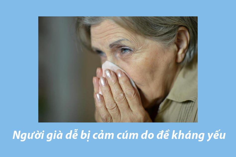 Người cao tuổi dễ mắc bệnh Cúm
