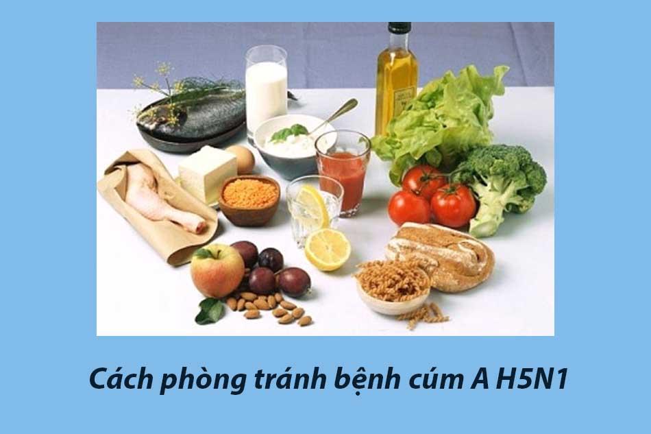 Cách phòng tránh bệnh cúm A H5N1