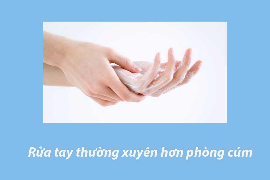 Rửa tay thường xuyên hơn