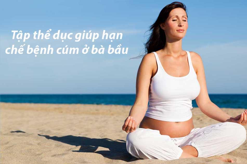 Tập thể dục giúp cơ thể phòng tránh được cúm
