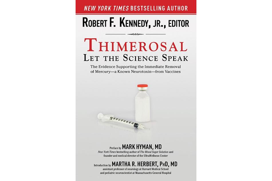 Thimerosal – chất kiềm khuẩn có chứa thủy ngân được sử dụng để bảo quản trong các loại vaccine