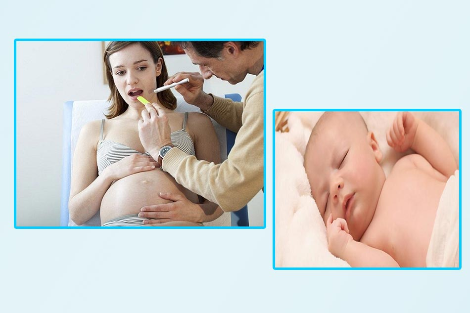 Mẹ viêm lợi có thể ảnh hưởng tới thai nhi. (Ảnh minh họa)