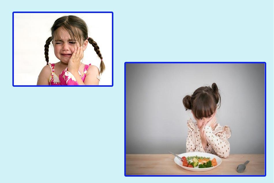 Những tác hại khi răng hàm của trẻ bị sâu