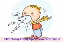Biến chứng không ngờ tới của bệnh cúm A