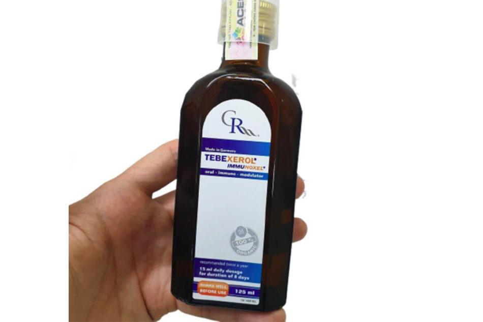 Tebexerol Immunoxel giúp tăng cường bảo vệ chức năng gan